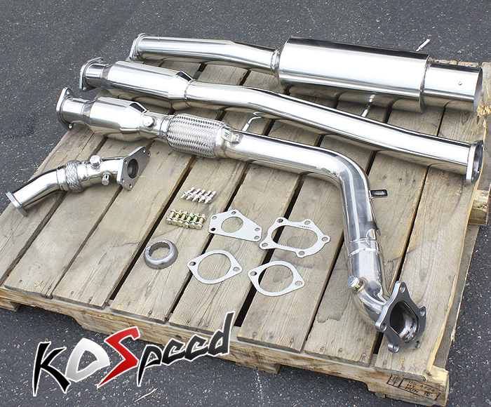 Turbo-Back Exhaust System