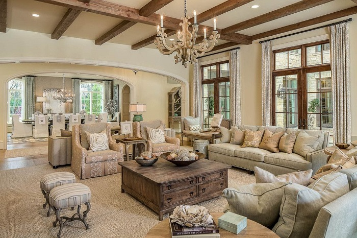 French Furniture Living Room