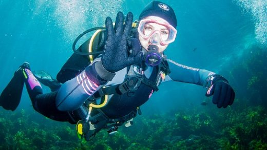 diving gloves