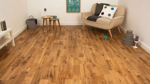 Engineered Oak Flooring: Beauty Requirements (Check), Saving Money (Check)