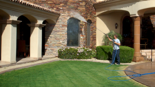 House Washing: To Freshen Up Your Home's Curb Appeal Pressure Washer Is Ideal