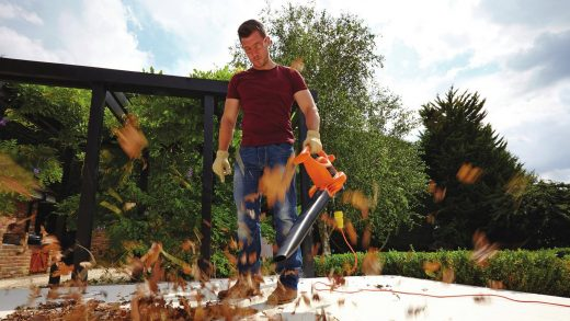 Landscape Maintenance 101: Power Through Big Leaf Cleanup with a Leaf Blower
