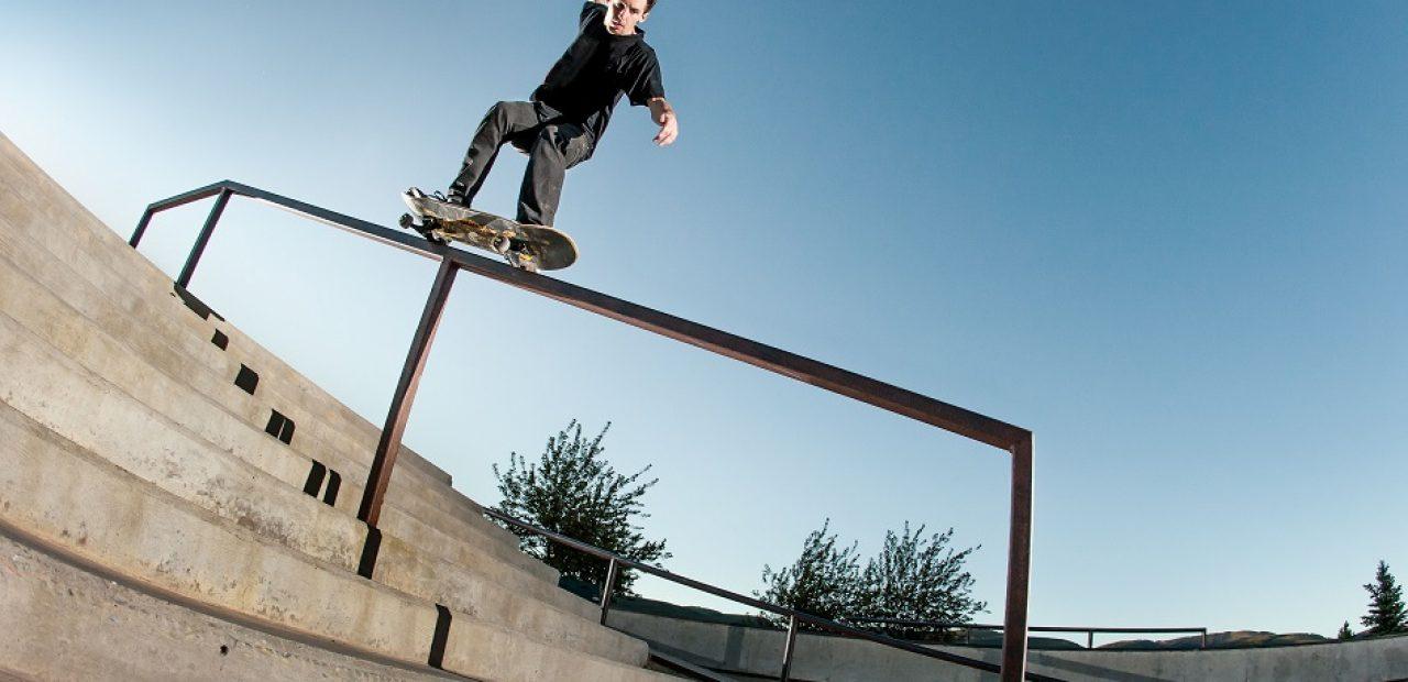 skateboard rail