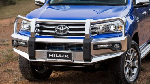 How Much of a Protection Boost Can Bull Bars Provide for Your Toyota Hilux?