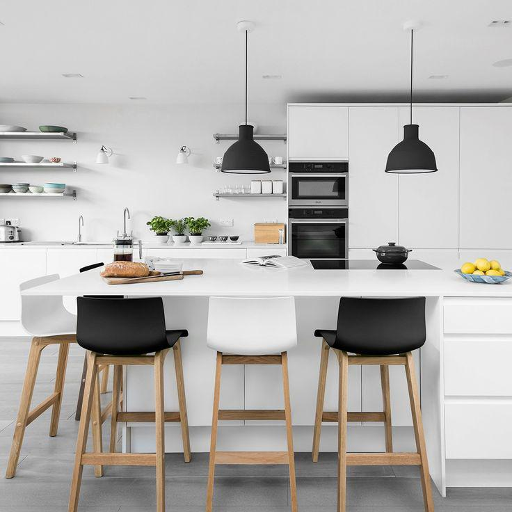 black kitchen counter stools 1