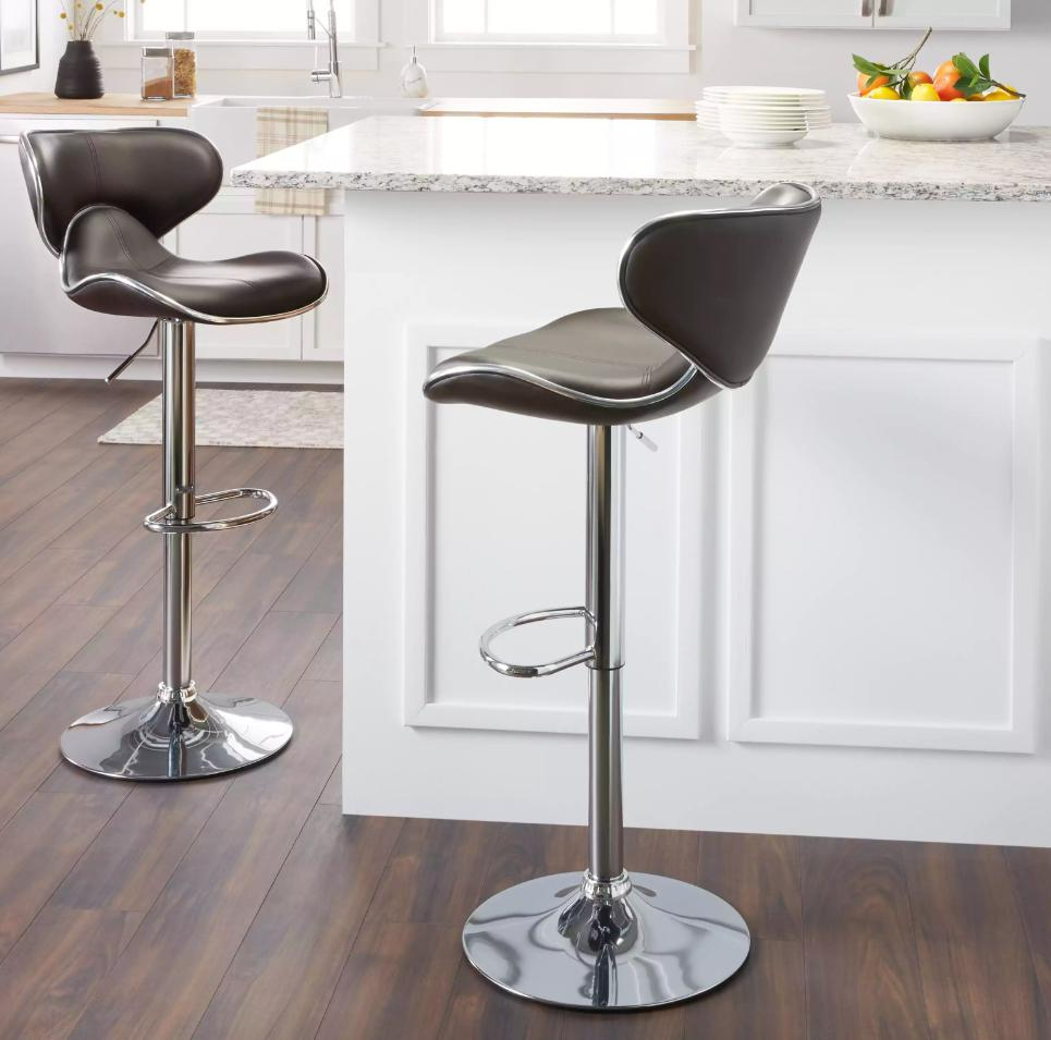 black kitchen counter stools 2