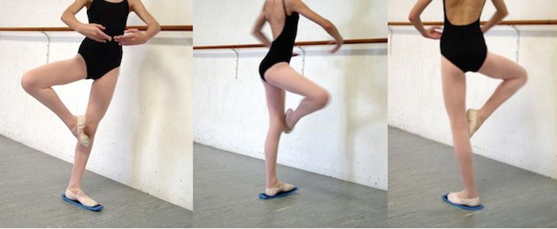 Ballet turn board