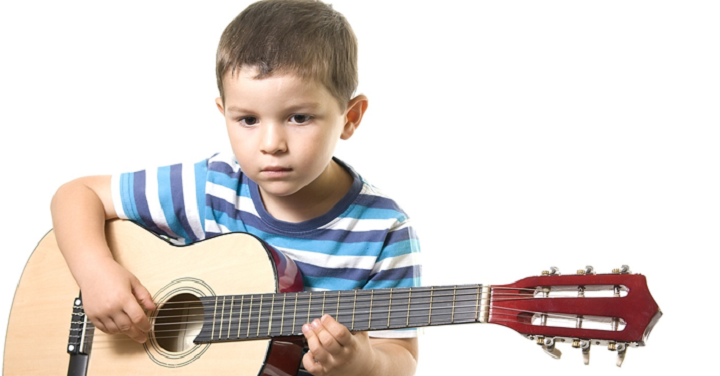 toddler guitar with strings