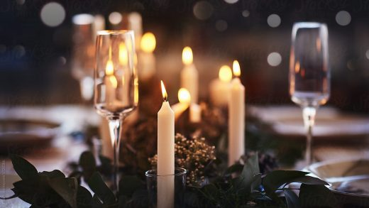 Wedding Decor Ideas: Set the Mood With Pillar Candles