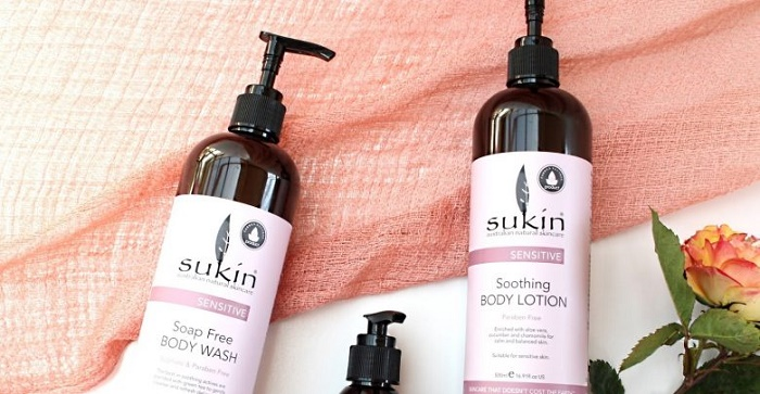 sukin sensitive skin