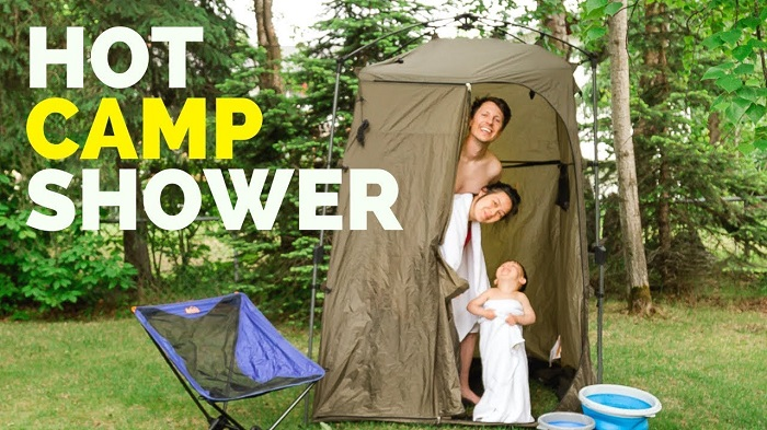 camping portable shower