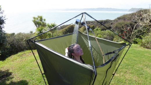 camping shower portable