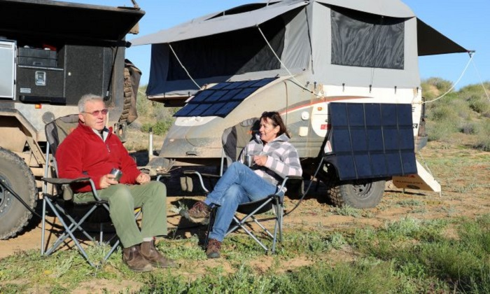 Solar Panel Blankets When Camping