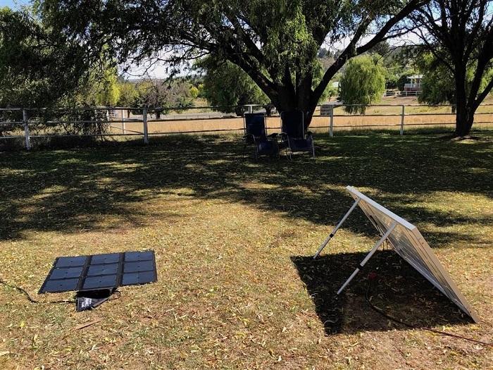 solar panel blankets
