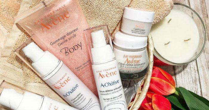 a oxitive avene skin recovery cream