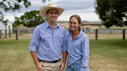 man and women wearing western shirts