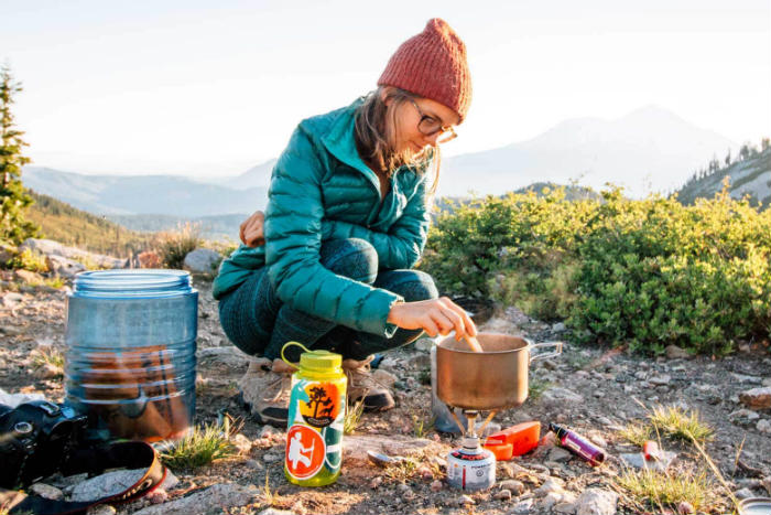 Backpacking-stove