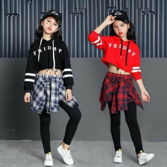 Kids hip hop fashion