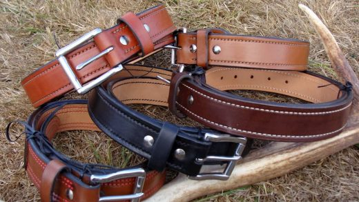 brown country belts