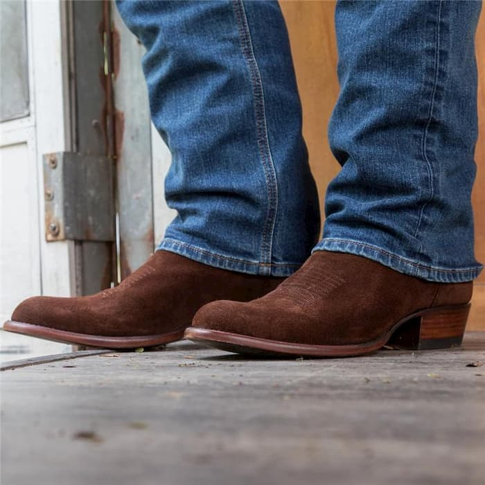 country jeans and boots