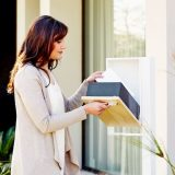 letterbox-stainless steel