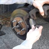 toyota rear brake pads