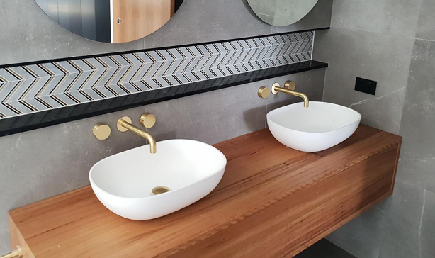 bathroom furniture vanity double sink basin