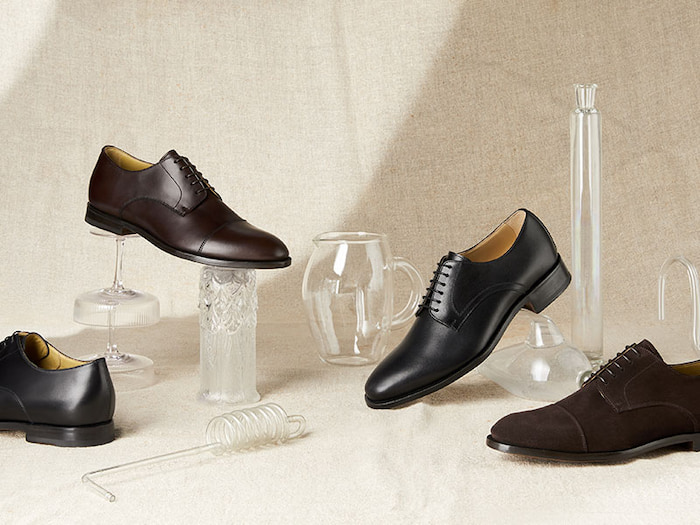 different derby shoes