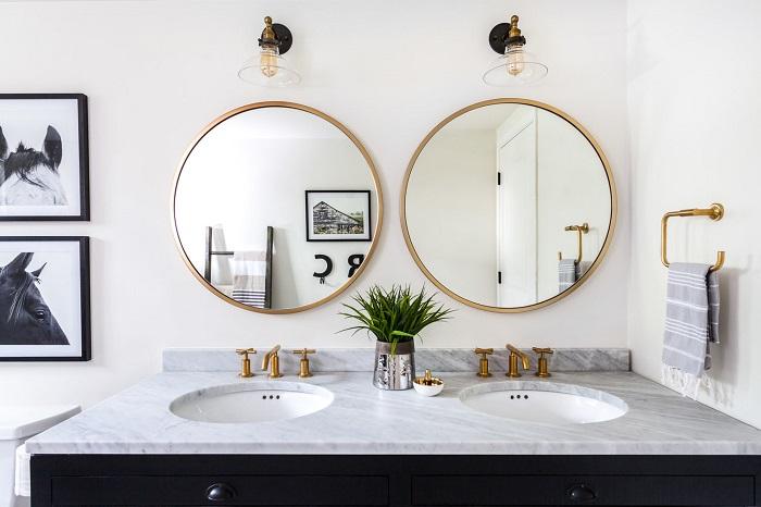 Bathroom-Round-Mirrors