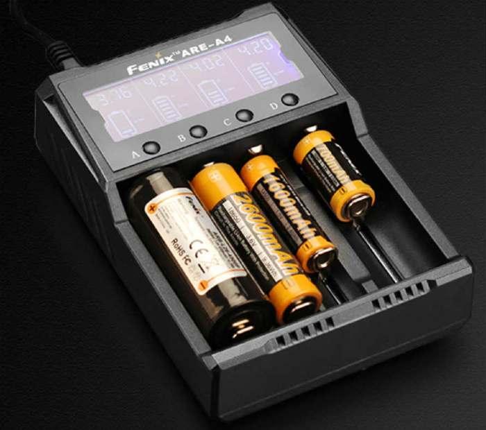 fenix pd35 batteries