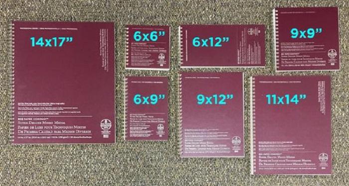 sketchbook Formats