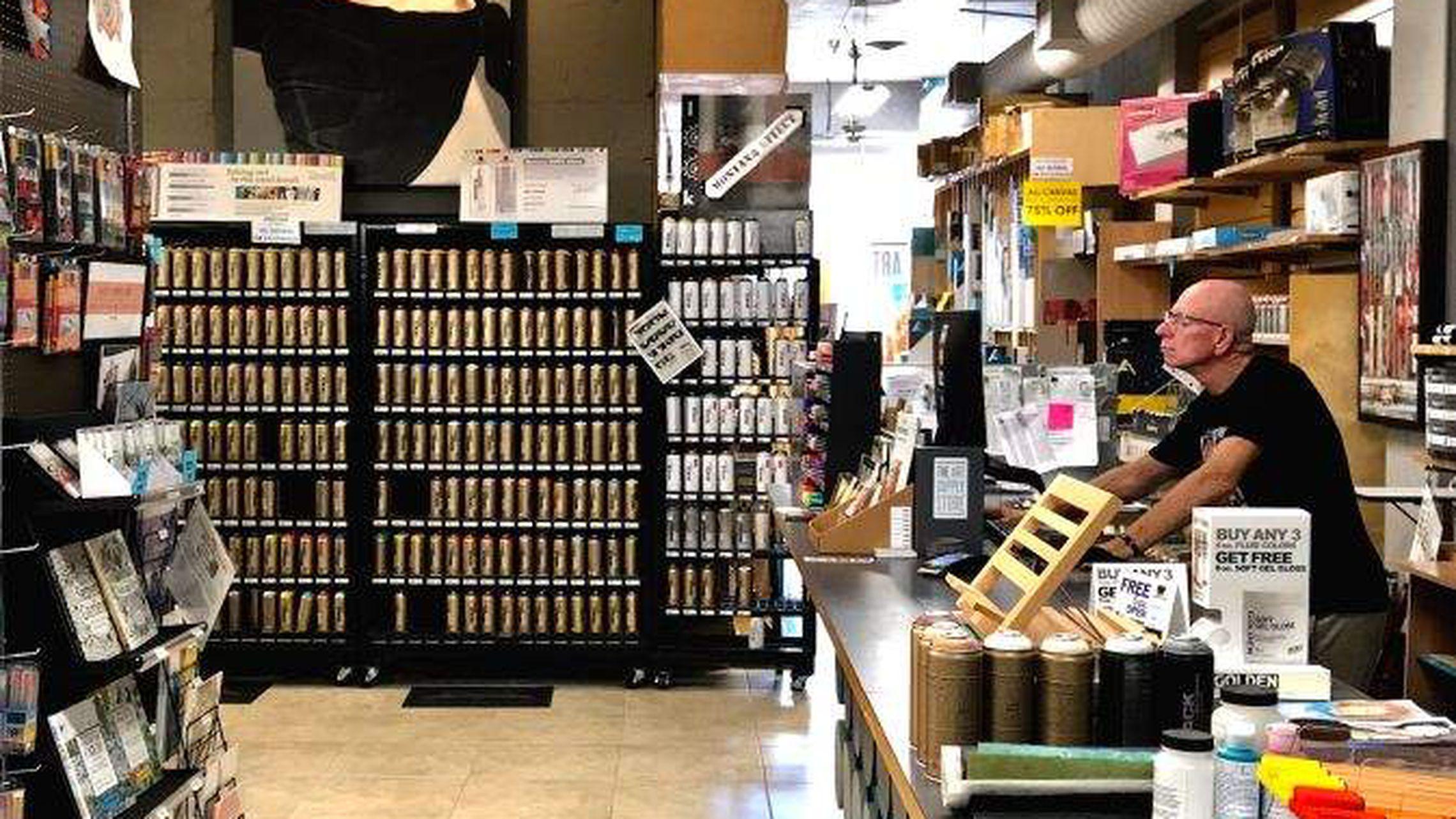 Art Supplies Stores