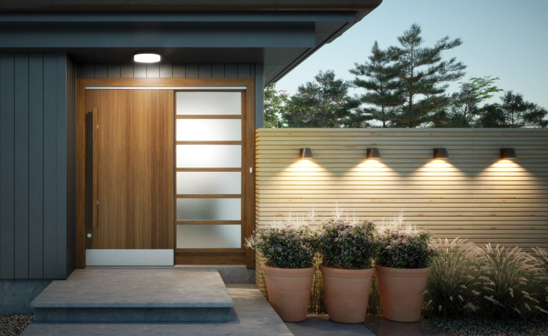 outdoor lighting front entry